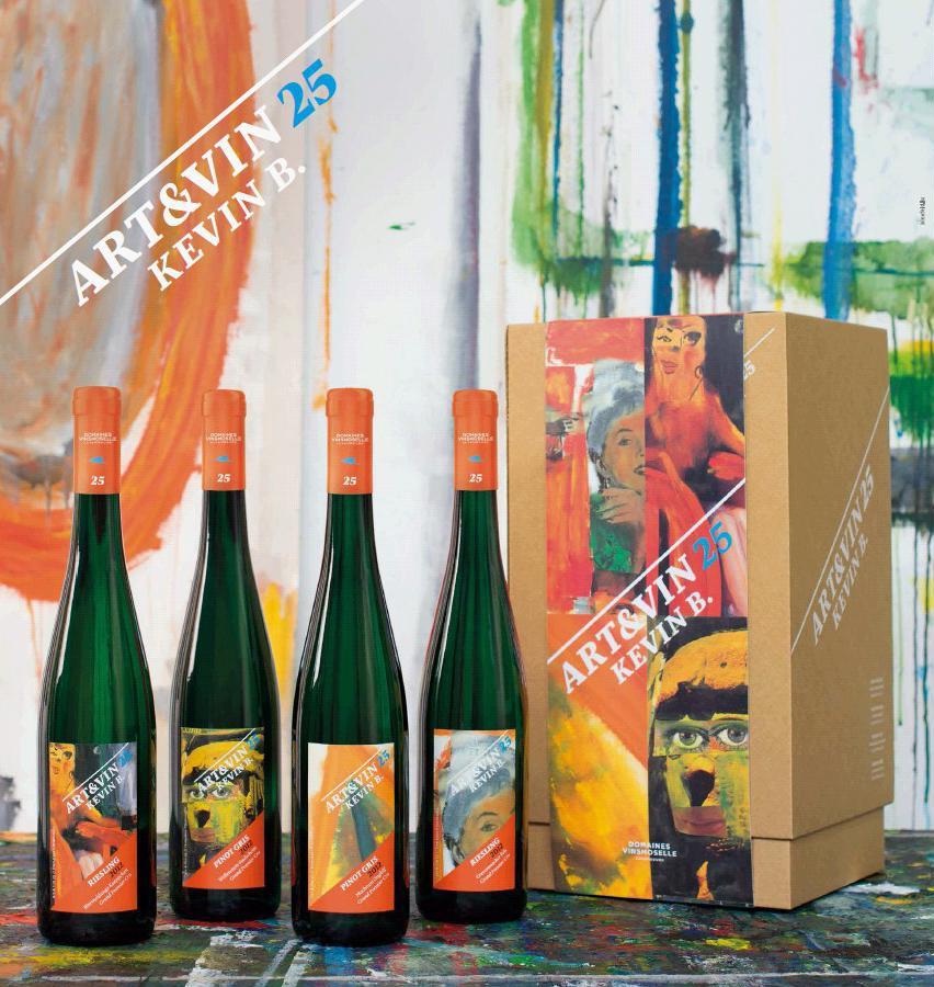 Panier Cadeau Luxembourg : Coffret cadeau art vin vinsmoselle